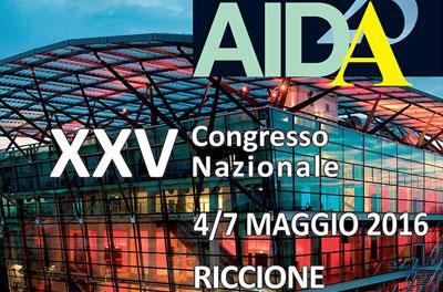 XXV Congresso Nazionale AIDA – Riccione 4-7 Maggio 2016