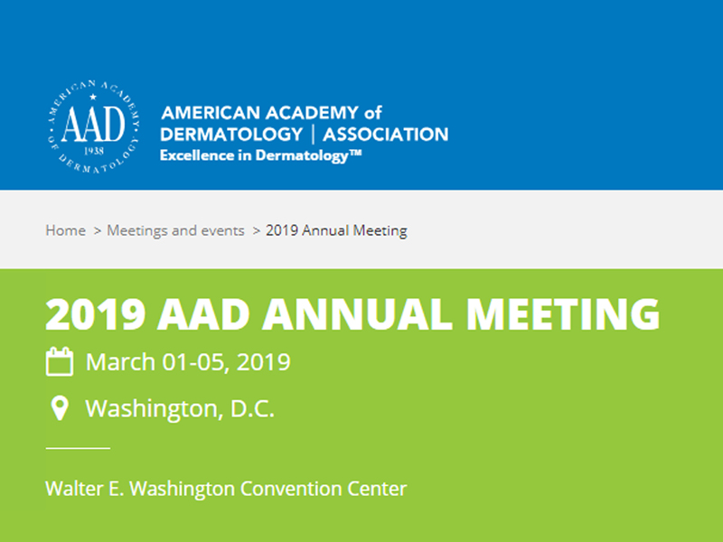 AAD 2019 Annual Meeting